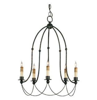 Bell Shaped Iron Frame Traditional Chandelier