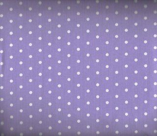 Sheet Set Lilac With White Polka Dots Girls Bedding Sheets: Home