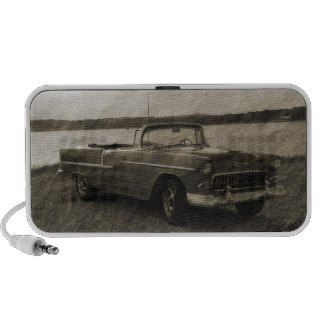55 Chevy Portable Speakers