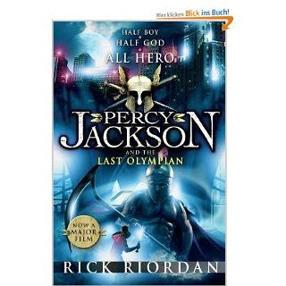 Percy Jackson and the Last Olympian: .de: Rick Riordan