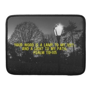 Bible Verse Psalm 119:105 MacBook Pro Sleeves