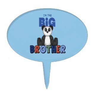 Panda Bear Big Brother Cake Topper