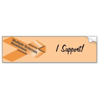Multiple Sclerosis Awareness Bumper Sticker