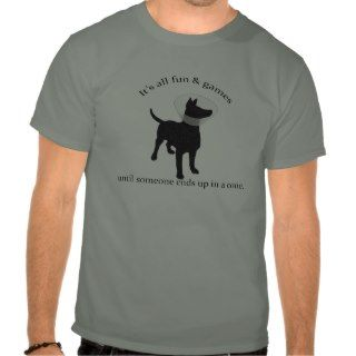 Dog Cone of Shame Tshirt
