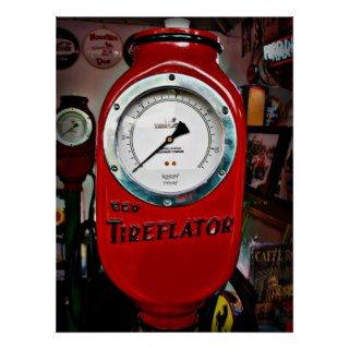 Eco Tireflator air meter Poster