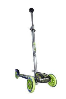 Hudora 10208   Big Wheel KB 125 , 125,3 x 125 mm Rollen,blau / grün