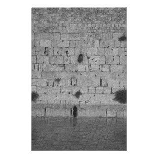 Man Praying at the Western Wall Posters