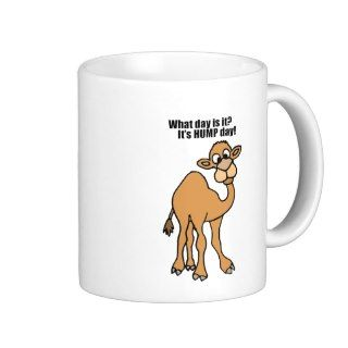 Funny Hump Day Camel Art Coffee Mug