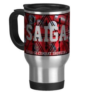Saiga 12   Combat Shotgun Travel Mug