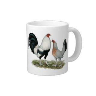 Silver Duckwing Gamefowl Extra Large Mug