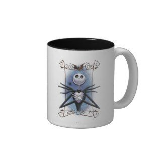 Jack Skellington 2 Coffee Mugs
