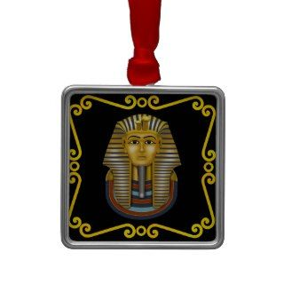 King Tut Christmas Tree Ornaments