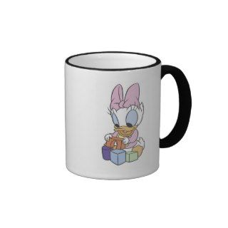 Baby Daisy Duck Playing With Blocks Mug