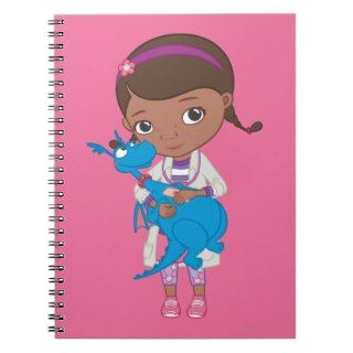 Doc McStuffins Holding Stuffy Note Book