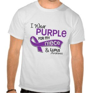Wear Purple For My Niece 42 Lupus Shirt