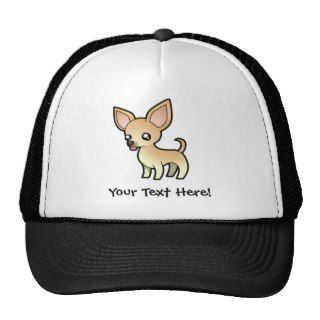 Cartoon Chihuahua (smooth coat) Hat