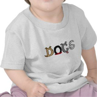 AE  Dogs Cartoon Baby Outfit Tee Shirt
