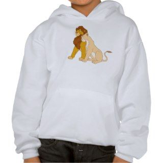 Lion Kings Adult Simba and Nala Disney Hoody