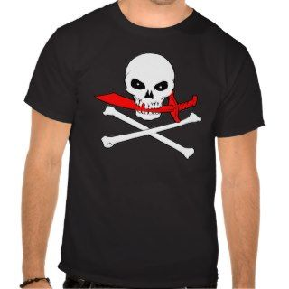 Jolly Roger(Cutlass)Dark T Shirt