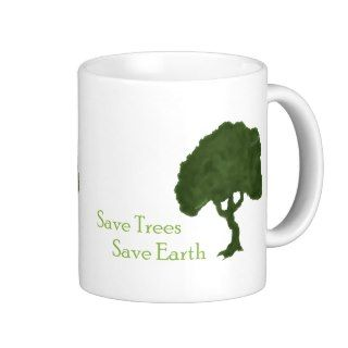 Save Trees Save Earth Coffee Mug