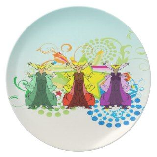 Tres Reyes Magos/Three Wise Men Plate