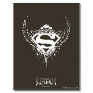 Superman Logo Post Cards