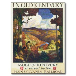 Kentucky ~ Pennsylvania Railroad Postcard