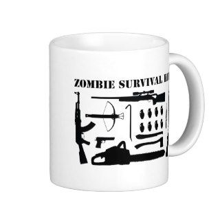 Zombie Survival Kit Mugs