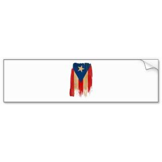 Puerto Rican Flag Bumper Stickers