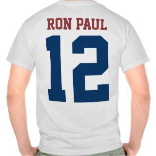 Ron Paul President in 2012 (back design) T Shirt
