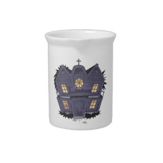 Haunted House Beverage Pitcher