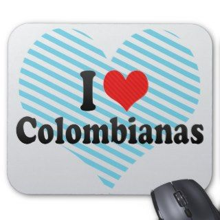 Love Colombianas Mouse Pads