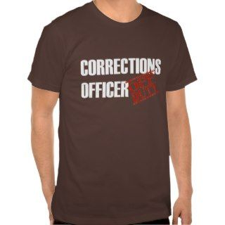 Off Duty Corrections Officer Tee Shirt