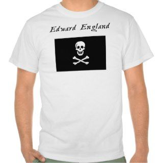 Pirate Edward England Jolly Roger Tee Shirt