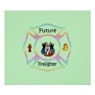 Firefighter Kids Print
