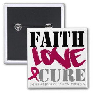 Sickle Cell Anemia Faith Love Cure Button