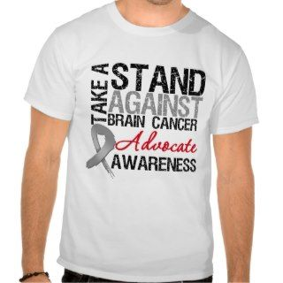 Take a Stand Against Brain Cancer Tshirts