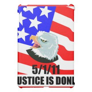 Justice is done cover for the iPad mini