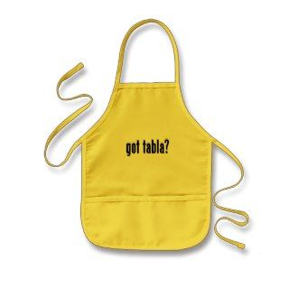 got tabla? aprons
