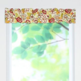 Chooty & Co. Maya Poppy Sleeve Topper Valance   Valances