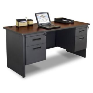 Marvel Pronto Double Pedestal Credenza   60W x 24D   Computer Desks at