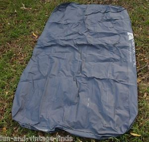 Ozark Trails Single Twin Size Blue Airbed Camping Travel Sleep Bed Air Mattress