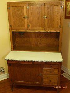 """1911 1919 Antique """"Hoosier"""" Cabinet"""