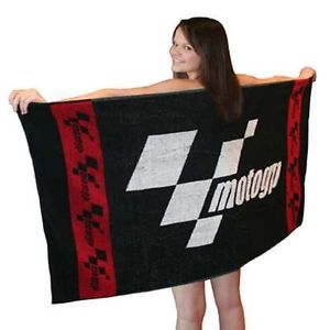 MotoGP Moto GP Logo Beach Bath Towel Motorcycle