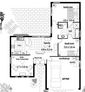 125 Home House Plans Floor Plans Office Granny Flat Real Estate New Home Designs