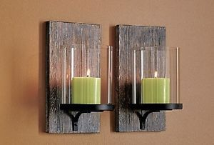 Image Result For Wooden Wall Sconce Candle Holder