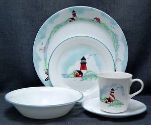 Corelle outer banks lighthouse dinnerware