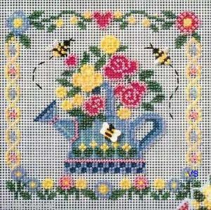 Mill Hill Buttons Beads Cross Stitch Kit Watering Can
