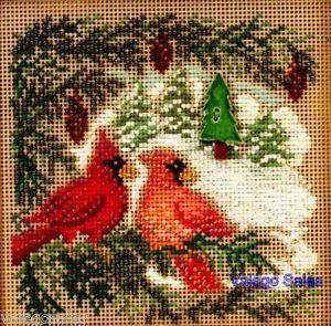 Mill Hill Button Beads Cross Stitch Kit Cardinal Forest