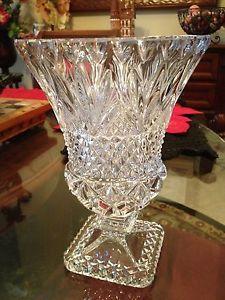 Vintage Nachtmann Bleikristall 24 Crystal Glass Vase
